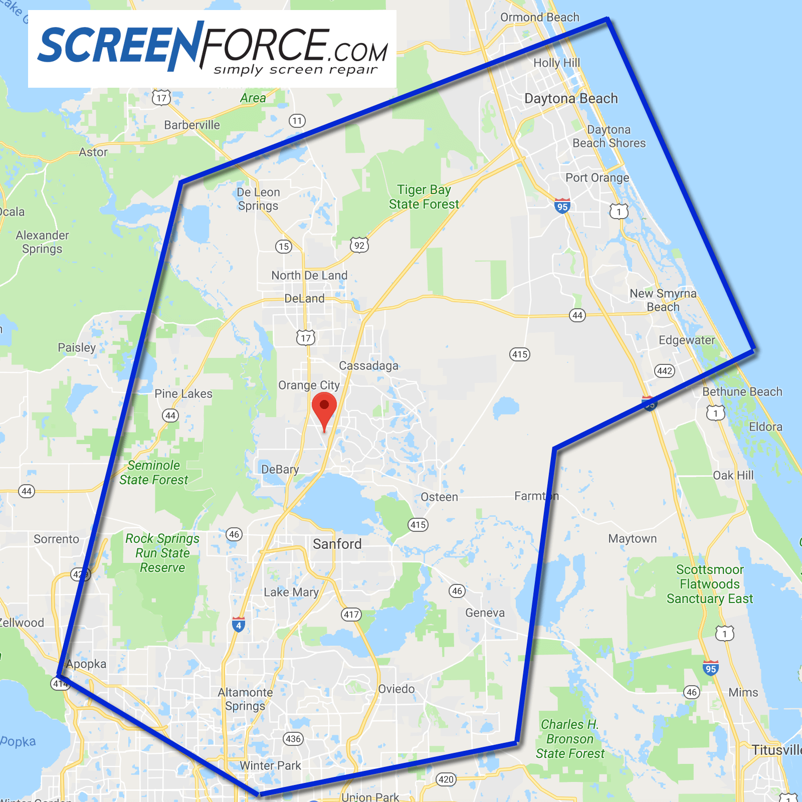 Service Area ScreenForce